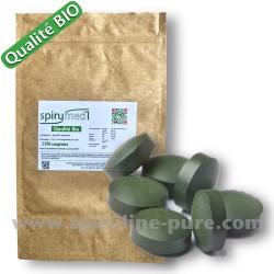 Spiruline bio - 2500 comprimés de spiruline pure qualité bio