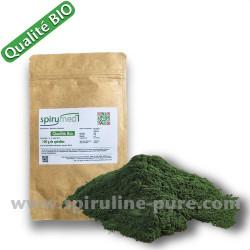 Spiruline bio  -  100 g  de poudre de spiruline pure qualité bio