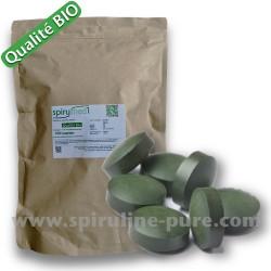 100  x  4000 comprimés de spiruline pure en qualité bio - 40000 comprimés pour revendeur