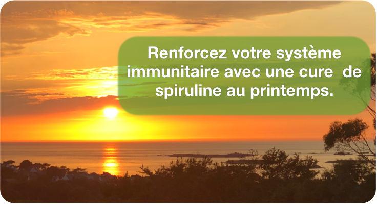 Renforcer ses défenses immunitaires avec la spiruline
